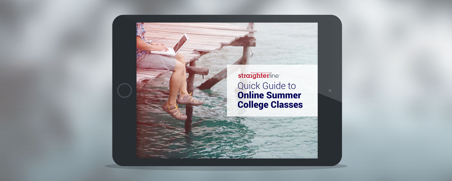 StraighterLine's Quick Guide to Online Summer Courses